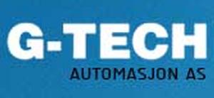 Logo for G-TECH AUTOMASJON AS