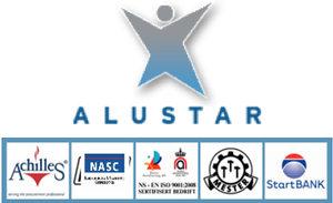 Logo for ALUSTAR AS