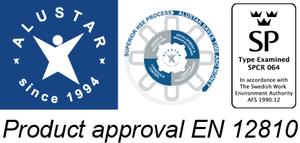 Logo for ALUSTAR AS